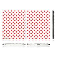 Funda Dot Series Flip iPad 2/Nuevo iPad -Blanco/Rosa
