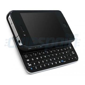 Bluetooth Keyboard + Case iPhone 4/4S -Black