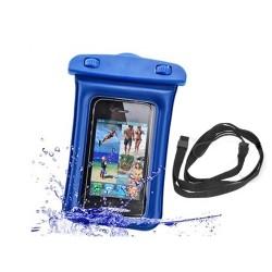 Waterproof Case Smartphone/iPhone -Blue