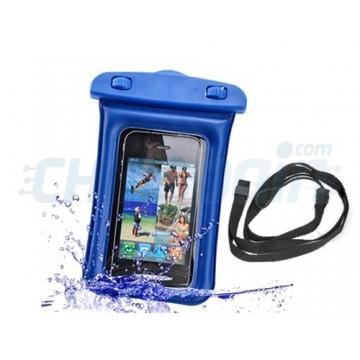 Caso impermeável Waterproof Smartphone/iPhone -Azul