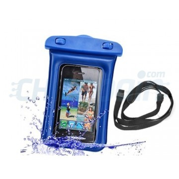 Waterproof Case Smartphone/iPhone -Blue