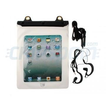 Waterproof case with headphonejack iPad 2/iPad 3/iPad 4 -White