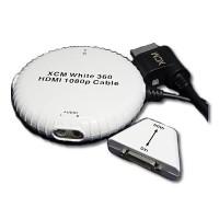 1080P HDMI Cable XCM para Xbox 360 - Blanco
