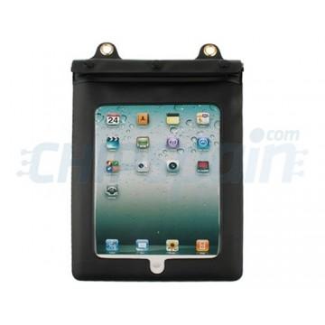Caso impermeável da água iPad 2/iPad 3/iPad 4 -Preto