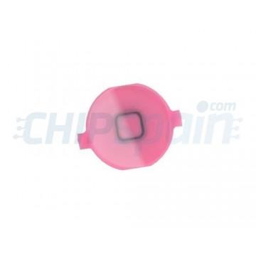 Botão Home iPhone 4 -Rosa