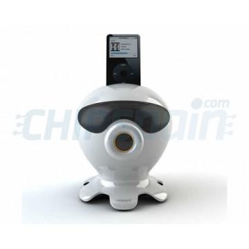 Charging Base with speakers Cartoon CS1021i iPod/iPhone -White