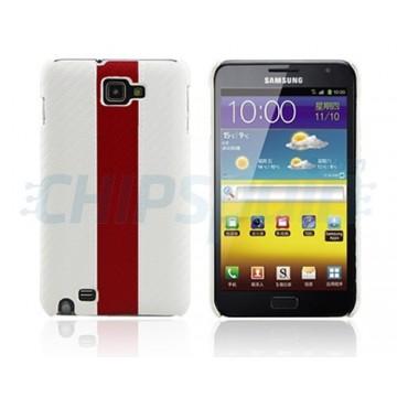 Carcasça Racing Series Samsung Galaxy Note -Branco/Vermelho