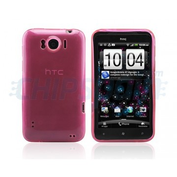 Caso Ultra Clear Series HTC Sensation XL -Rosa