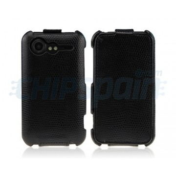 Carcasa Reptile Series HTC Incredible S -Negro