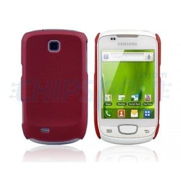 Carcasa Sand Series Samsung Galaxy Mini -Rojo