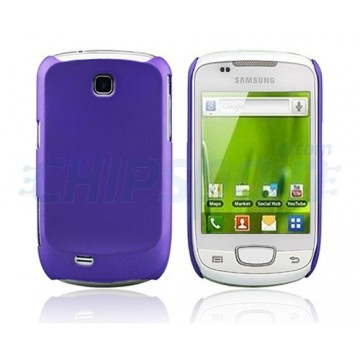 Carcasa Ideal Series Samsung Galaxy Mini -Morado