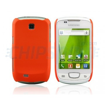 Carcasça Ideal Series Samsung Galaxy Mini -Alaranjada