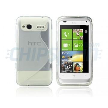 Funda S-Line Series HTC RADAR -Transparente