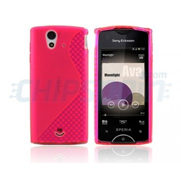Case S-Line Series Sony Ericsson Xperia Ray -Magenta