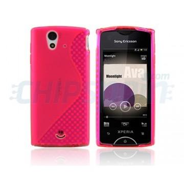 Funda S-Line Series Sony Ericsson Xperia Ray -Magenta
