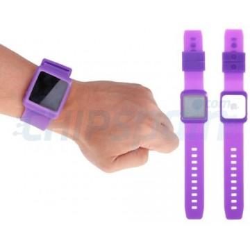 Strap Nano Watch iPod Nano 6ª Gen -Purple