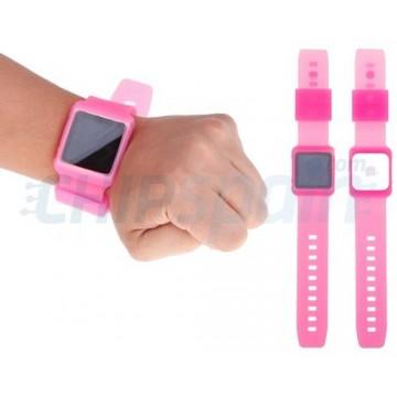 Strap Nano Watch iPod Nano 6ª Gen -Pink