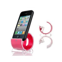 Base Sync Stand 30 pin iPhone/iPod -Magenta