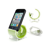 Base Sync Stand 30 pin iPhone/iPod -Verde