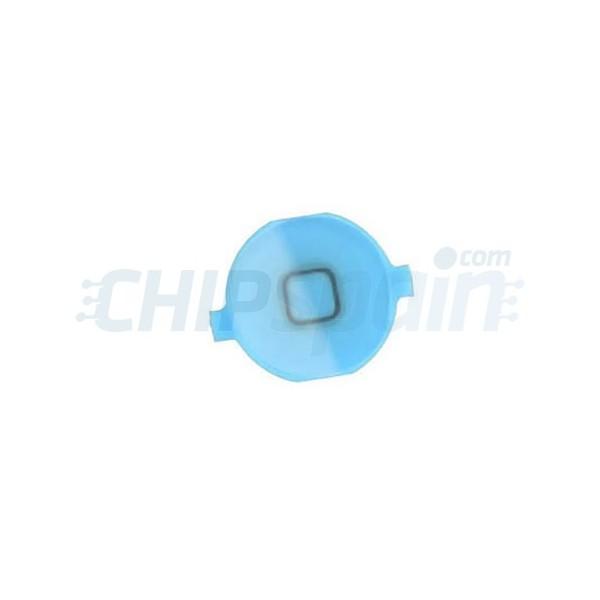 new arrival 011ba cfc61 Home Button iPhone 4S -Light blue