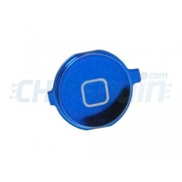 Botão Home iPhone 4S -Azul Metalizado