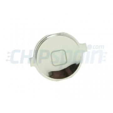 Botón Home iPhone 4S -Plata