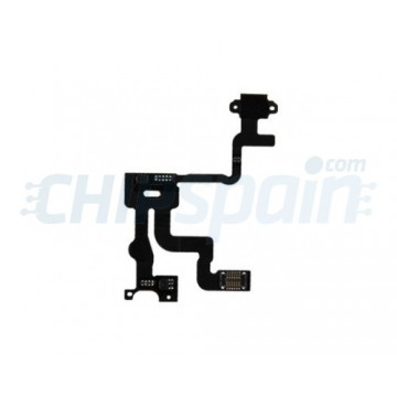 Cable Flexible Encendido y Sensor Proximidad iPhone 4S