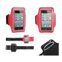 Braçadeira Sport para iPhone -Vermelho