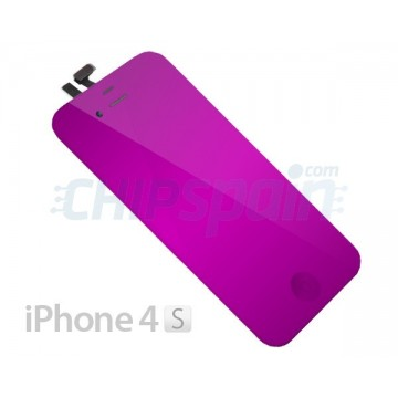 Pantalla Completa iPhone 4S - Morado Espejo