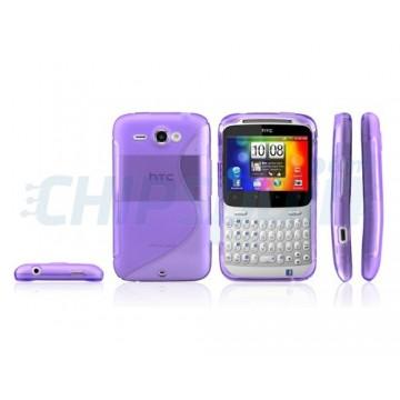 Case S-Line Series HTC ChaChaCha -Purple