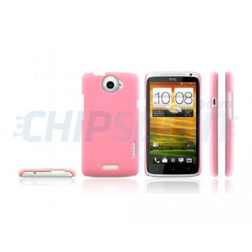 Caso Ideal Series HTC One X -Rosa