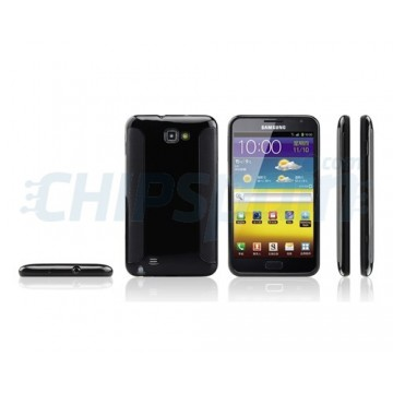 Case Series Silicone Samsung Galaxy Note -Black