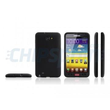 Caso Original Series Silicone Samsung Galaxy Note -Preto