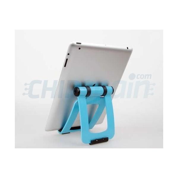 Soporte tablet para mesa locktec azul - Soporte tablet mesa ...