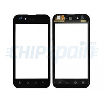 Cristal Digitalizador LG Optimus Black - Negro