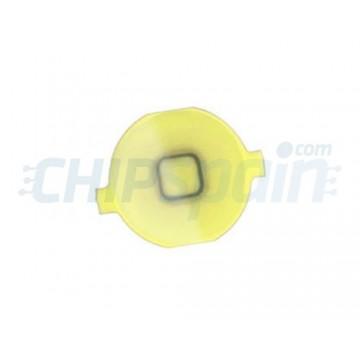 Botão Home iPhone 4 -Amarelo