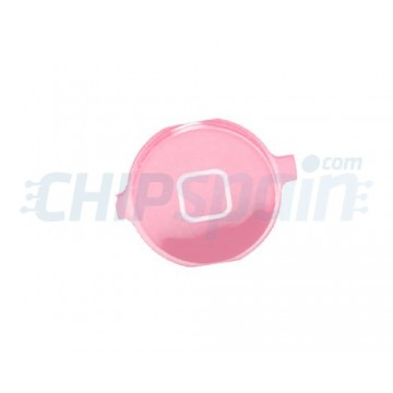 Home Button iPhone 4 -Metallic Pink