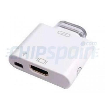 Adaptador Conector Salida HDMI iPhone/iPad/iPod