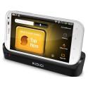Carregando o berço/sincronização + 2 slot de bateria Kidigi HTC Sensation XL