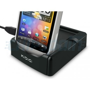 Charging Cradle/Synchronization + 2nd Battery Slot Kidigi HTC Wildfire S