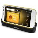Carregando o berço/sincronização Kidigi HTC Sensation XL