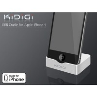 Base de Carga KiDiGi iPhone 4/4S -Blanco