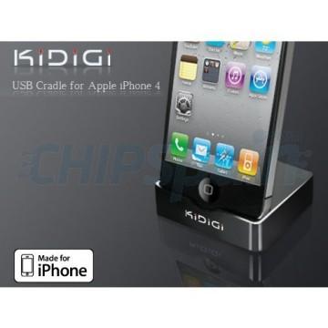 Charging Base KiDiGi iPhone 4/4S - Black