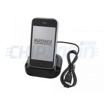 Base de carregamento KiDiGi iPhone 3G/3GS