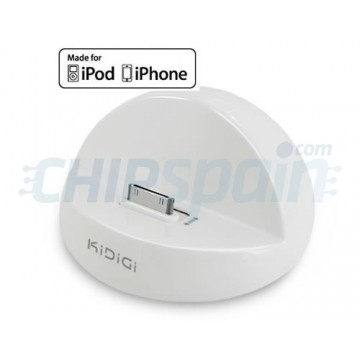 Base de Carga KiDiGi iPod/iPhone -Blanco