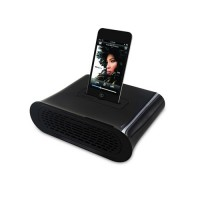 Amplificador Pasivo Kidigi iPhone 4/4S/3/3GS/iPod Touch 4Gen -Negro