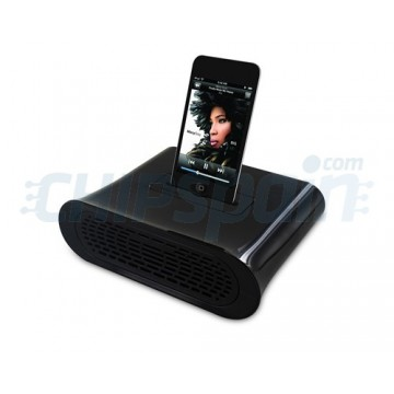Amplificador Pasivo Kidigi iPhone 4/4S/3/3GS/iPod Touch 4Gen Negro