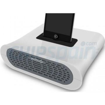 Acoustic Passive Amplifier Kidigi iPhone 4/4S/3/3GS/iPod Touch 4Gen -White