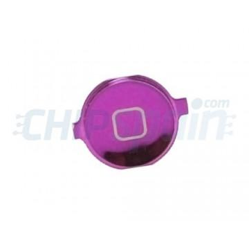 Home Button iPhone 4 -Metallic Purple