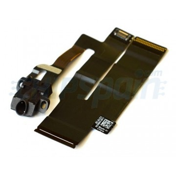 Conector Auriculares y Cable de Datos + Wifi iPad 3 -Negro